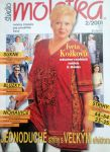 Moletka - módní časopis pro plnoštíhlé 2/2001