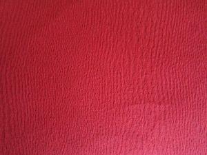 Bavlněná kostýmová látka - červená