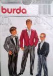 Střih BURDA - Chlapecké společenské oblečení vel. 116-176