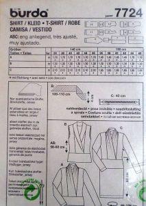 Střih BURDA - Dámské šaty a halenka vel. 36-46
