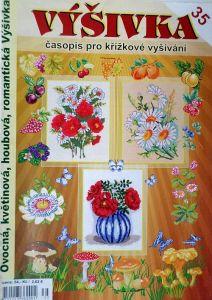 Výšivka - Ovocná, květinová, houbová, romantická č. 35