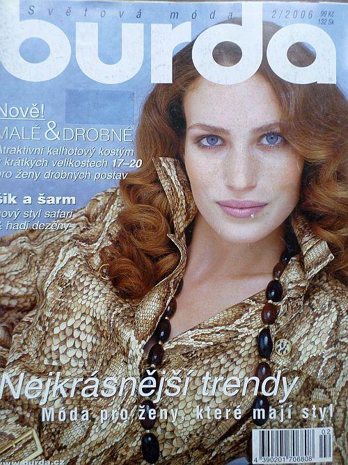 časopis Burda 2/2006 v češtině