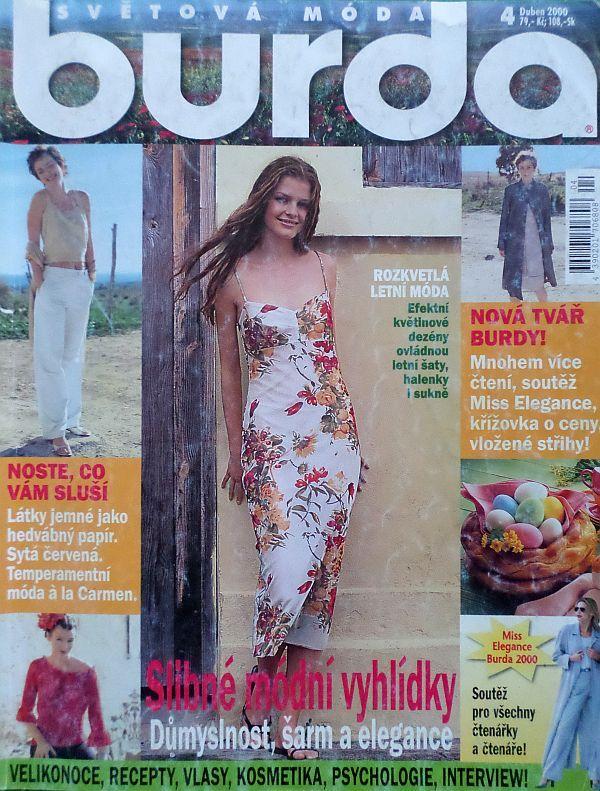 Burda 4/2000 v češtině