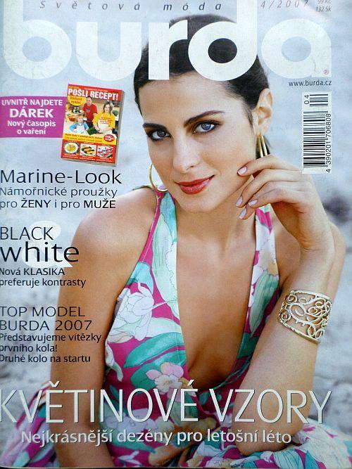 časopis Burda 4/2007 v češtině