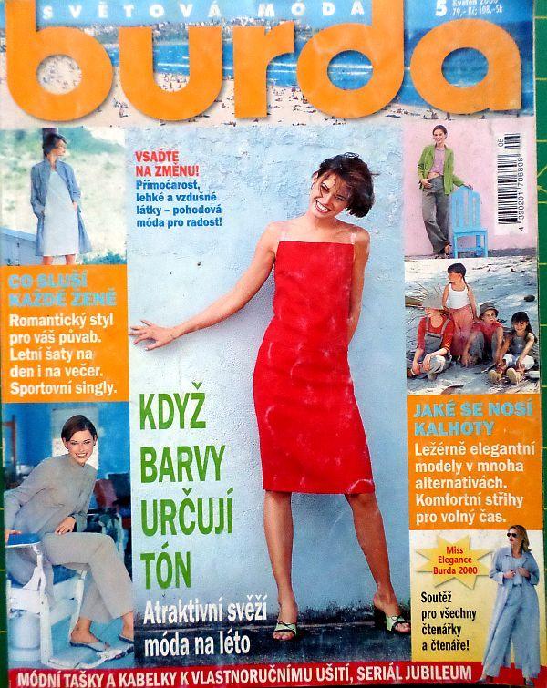 Burda 5/2000 v češtině
