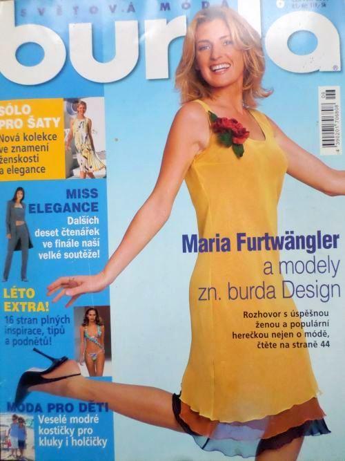 časopis Burda 6/2001 v češtině