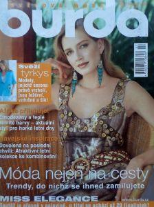 časopis Burda 7/2005 v češtině