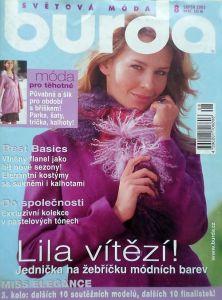 časopis Burda 8/2005 v češtině