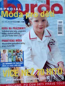 Burda - Móda pro děti jaro-léto 2003