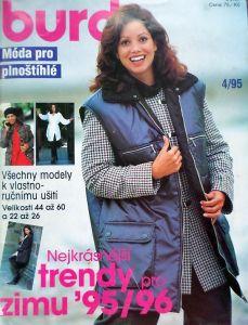Burda - Móda pro plnoštíhlé 4/1995