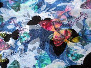 Úplet Motýli bavlna