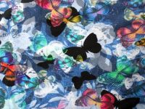 Úplet Motýli 180 g/m2