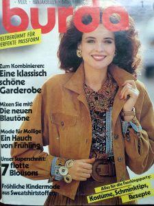 Burda 1/1990 v němčině