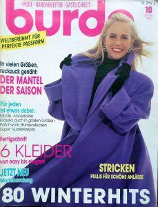 Burda 10/1990 v němčině