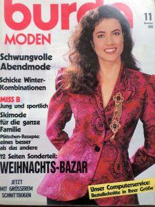 Burda 11/1988 časopis