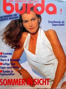 Burda 5/1991 v němčině