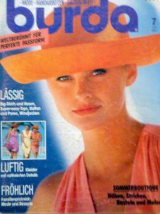 Burda 7/1991 v němčině