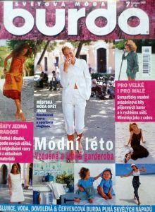 časopis Burda 7/1999