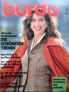 Burda 9/1989 v němčině