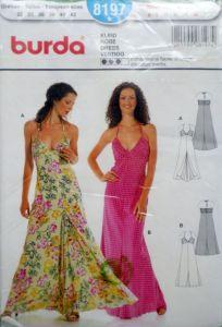 Střih Romantické šaty