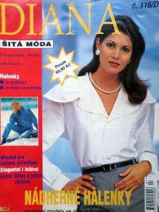 Diana - šitá móda č. 116/D v češtině