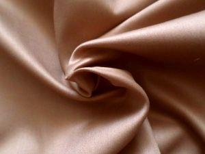 Satén bavlněný hnědý š. 240 cm