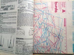 Burda 8/1991 - ukázka pířlohy