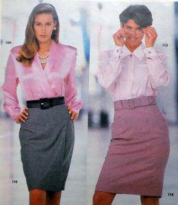 Burda 8/1991 - ukázka modelů