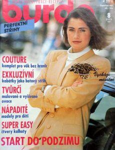 Burda 8/1991 v češtině