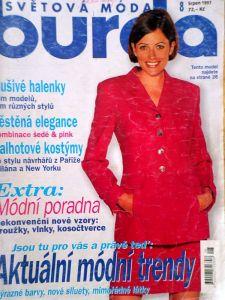 Burda 8/1997 v češtině