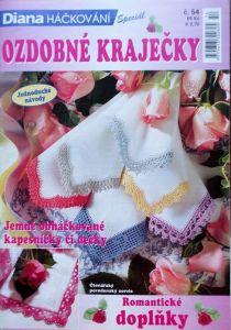 Ozdobné kraječky č. 54 edice Diana speciál Háčkování